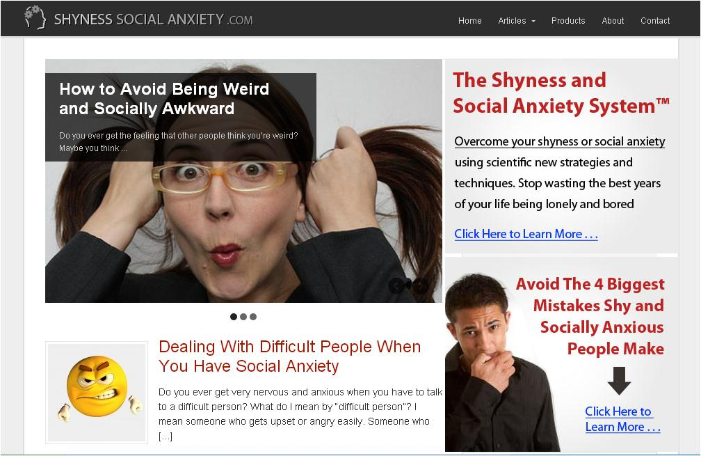 Social anxiety dating